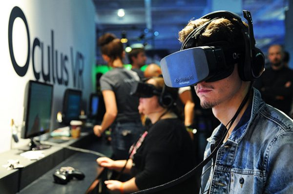 Attendees at the Oculus Rift conference in 2013