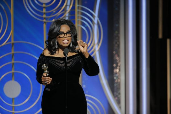 Oprah Winfrey speaks out about the women's movement in Hollywood at the 2018 Golden Globe awards