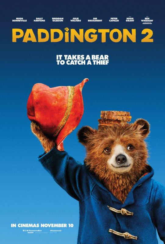 Paddington 2, in theaters on Friday January 12th, 2018